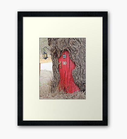 Hobbit Haven Framed Print