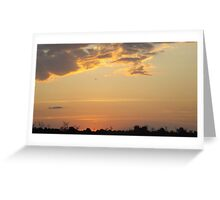 African Sunset #6 Greeting Card