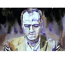 LENNIE TRISTANO - watercolor portrait Photographic Print