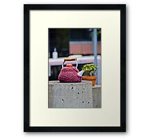 Urban Melbourne VI: Whimsy  Framed Print