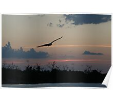 African Sunset #10 Poster