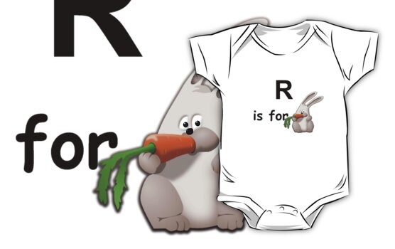 R is for ... by Hallo Wildfang