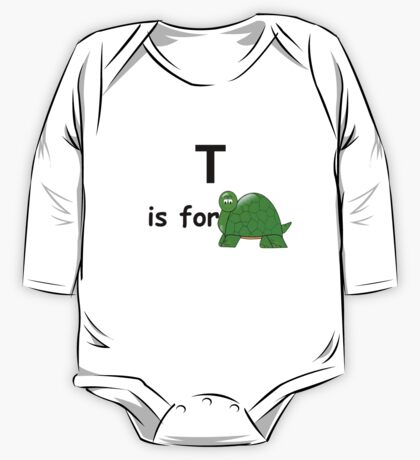 T is for ... One Piece - Long Sleeve