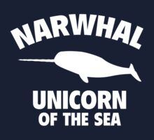 Narwhale Unicorn Of The Sea by BrightDesign