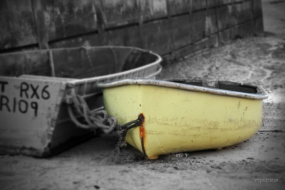 Yellow Boat by mpstone