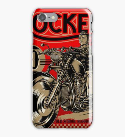 Rockers bikers iPhone Case/Skin