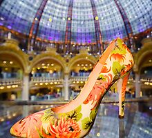 Shoe Galeries Lafayette, Paris by Heather Buckley