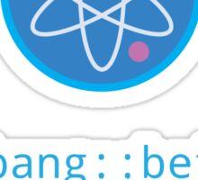 CSS Pun - Big Bang Sticker