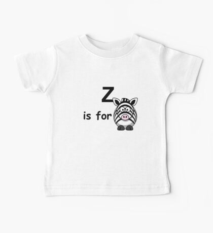 Z is for ... Baby Tee
