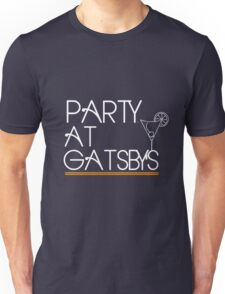 Party at Gatsby's (Dark Shirt) Unisex T-Shirt