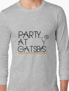 Party at Gatsby's (Light Shirt) Long Sleeve T-Shirt