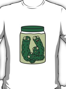 Funny Cucumber Preserving Jar T-Shirt