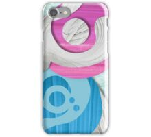Plaster abstract art iPhone Case/Skin