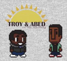 Troy and Abed in the mooooorning! by zijing