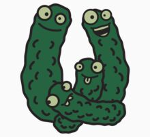 Funny Cucumber Family by Style-O-Mat