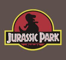 Barney X Jurassic Park Baby Tee