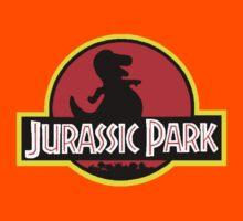 Barney X Jurassic Park Kids Tee