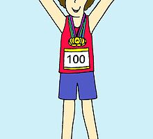 100th marathon for a woman by KateTaylor