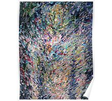 PSYCHEDELIC STANDING BODY FIGURE Poster
