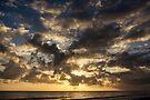 Pre-eclipse Sunburst - Port Douglas by Richard Heath