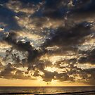 Pre-eclipse Sunburst - Port Douglas by Richard Heath