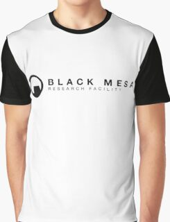 Black Mesa Research Facility Graphic T-Shirt