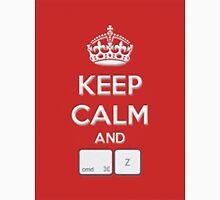 Keep Calm and cmd Z Unisex T-Shirt