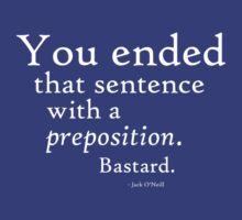Preposition White by CaelisMiran