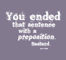 Preposition White 2 by CaelisMiran