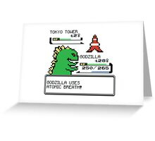 Godzilla I Choose You!! Greeting Card