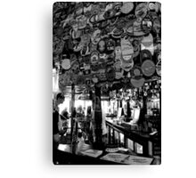 The Harp - Bar & Beer Mats 2 Canvas Print