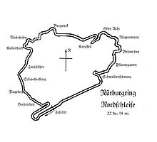 Shrine Series: Nürburgring Nordschleife Photographic Print