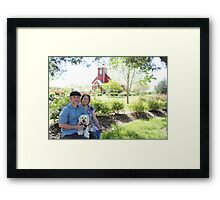 Alma and Lonny Framed Print