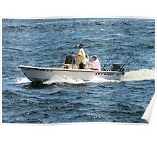 Out Fishing Poster