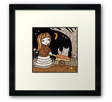Hollys Happy Helpers Framed Print
