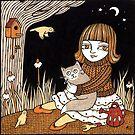 Mollys Midnight Garden by Anita Inverarity