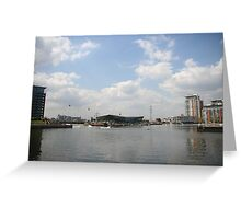 Victoria Dock looking west  Greeting Card