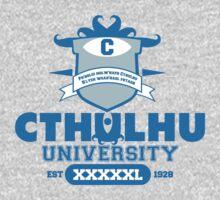 Cthulhu University  One Piece - Long Sleeve