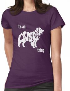 Aussome Womens Fitted T-Shirt