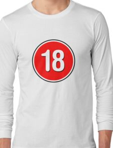 Rated 18 Long Sleeve T-Shirt