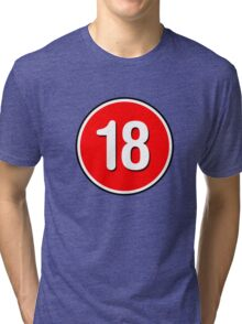 Rated 18 Tri-blend T-Shirt