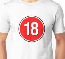 Rated 18 Unisex T-Shirt