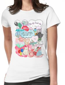 Lonely Hearts Club (we have shirts and everything) Womens Fitted T-Shirt