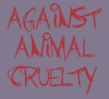 Against Animal Cruelty Kids Tee