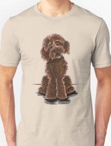 Chocolate Labradoodle Unisex T-Shirt