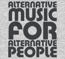 Alternative Music for Alternative People One Piece - Short Sleeve