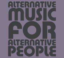 Alternative Music for Alternative People Kids Tee