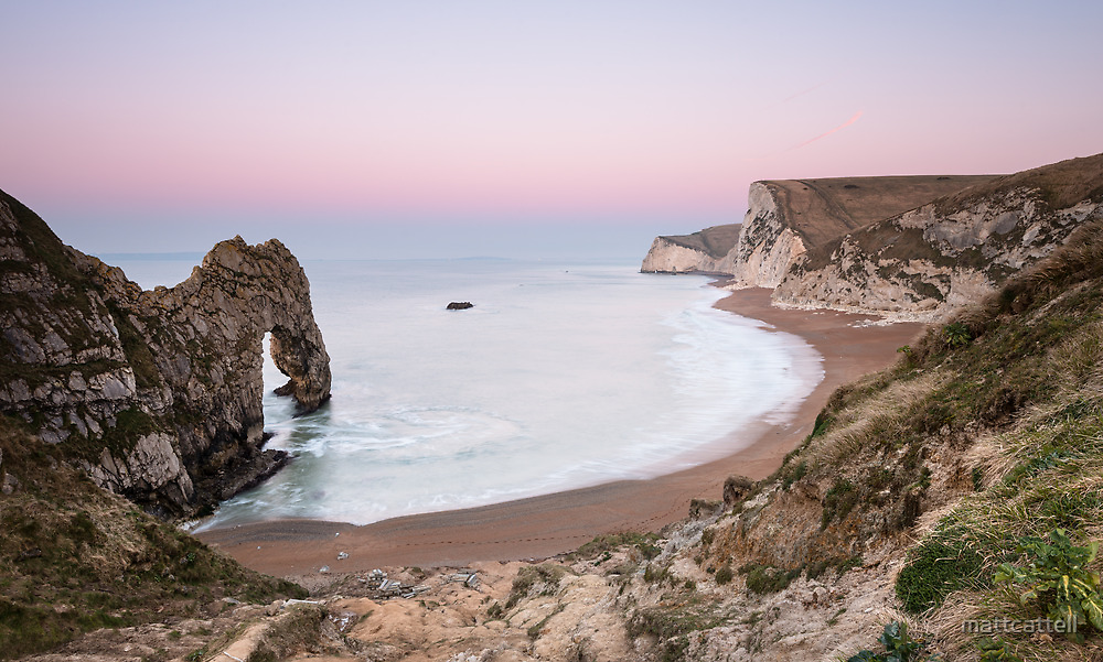 Dawn at Durdle by mattcattell