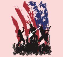 America Rocks One Piece - Long Sleeve