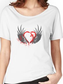 Blood Wings Women's Relaxed Fit T-Shirt